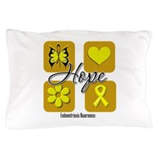 Hope Endometriosis Pillow Case