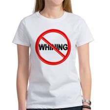 no_whining_clock_flat T-Shirt