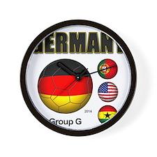 Germany-Soccer-2014 Wall Clock