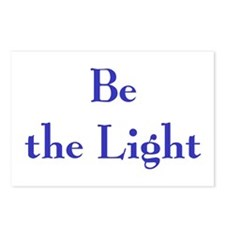 Be the Light 2 Postcards (Package of 8)