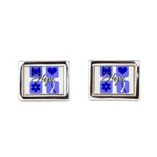 Hope ALS Rectangular Cufflinks