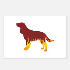 AWS Flames Postcards (Package of 8)
