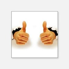 Two Thumbs Up Sticker
