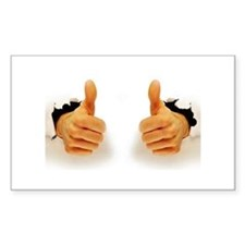Two Thumbs Up Decal