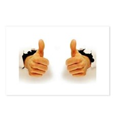Two Thumbs Up Postcards (Package of 8)