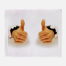 Two Thumbs Up Throw Blanket