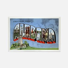 Alabama Greetings Rectangle Magnet