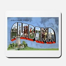 Alabama Greetings Mousepad