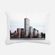 World Trade Center Rectangular Canvas Pillow