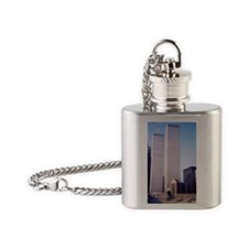 World Trade Center Flask Necklace