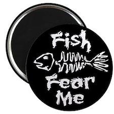 Fish Fear Me Magnet
