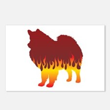 Eskimo Flames Postcards (Package of 8)