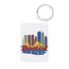 Boston Skyline Keychains