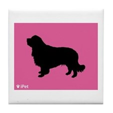 Clumber iPet Tile Coaster