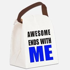 Awesome Ends With ME Canvas Lunch Bag
