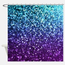 Mosaic Sparkley 2 Shower Curtain