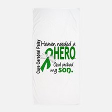 Cerebral Palsy HeavenNeededHero1 Beach Towel
