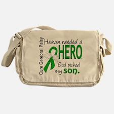 Cerebral Palsy HeavenNeededHero1 Messenger Bag