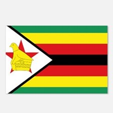 Flag Zimbabwe Postcards (Package of 8)