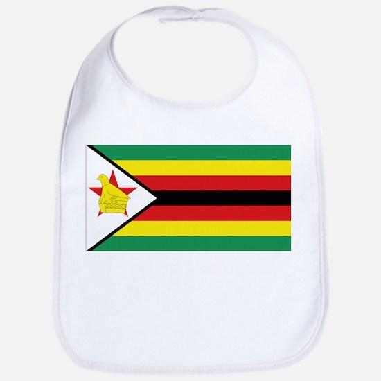 Flag Zimbabwe Bib