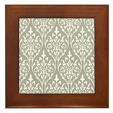 Funny Stopper Framed Tile