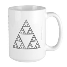 Sierpinski triangle Mugs