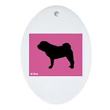 Shar-Pei iPet Oval Ornament