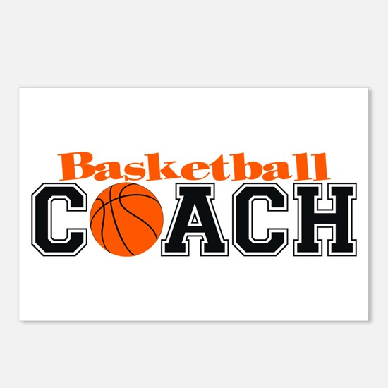 Basketball Coach Postcards (Package of 8)