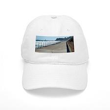 Whitby north promenade Baseball Cap