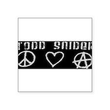 Todd Snider bumper sticker Sticker