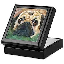 Pug #1 Keepsake Box