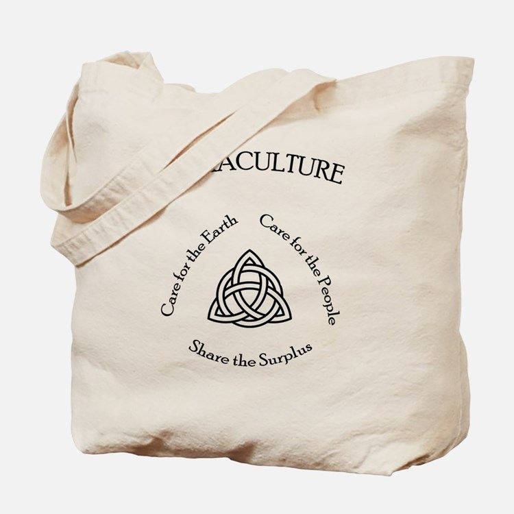 Permaculture Ethics Tote Bag