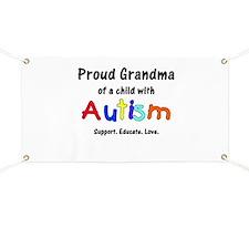 Grandma Autism Banner