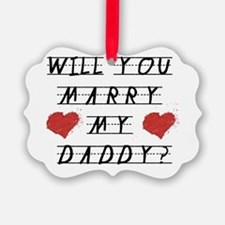 Will you marry? Ornament