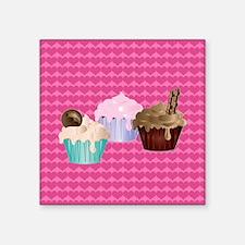 Delicious cupcakes Sticker