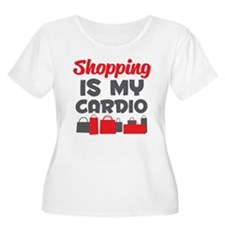 Shopping Is My Cardio Plus Size T-Shirt