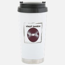 VINYL JUNKIE Travel Mug