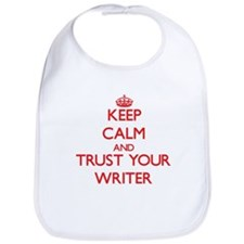 Keep Calm and trust your Writer Bib
