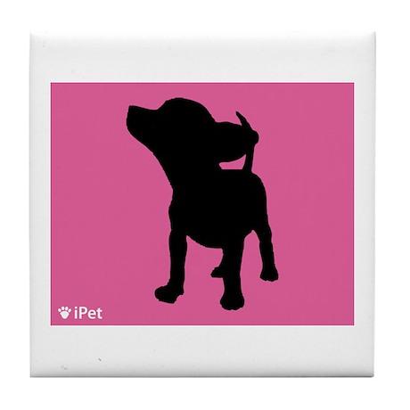 Chihuahua iPet Tile Coaster