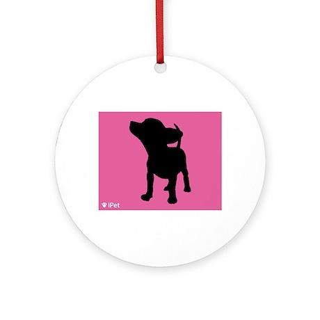 Chihuahua iPet Ornament (Round)