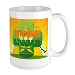 Sunshine Cannabis Brand Tea & Coffee Mugs