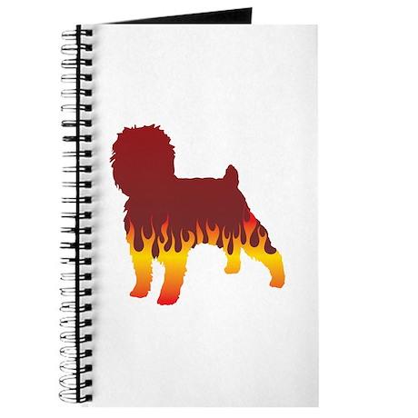 Affenpinscher Flames Journal