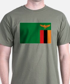 Flag Zambia T-Shirt