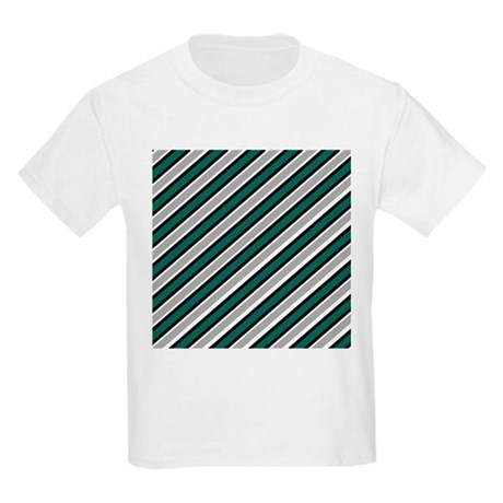 Team Colors 1...teal green , gray Kids Light T-Shi