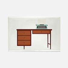 Vintage Desk and Typewriter Magnets