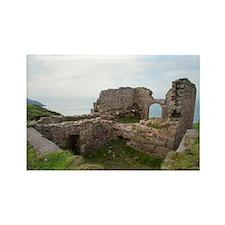 Botallack mine ruins Rectangle Magnet