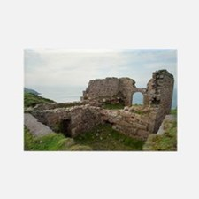 Botallack mine ruins Rectangle Magnet