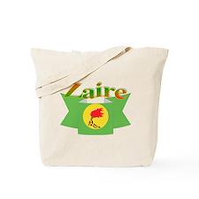 Flag ribbon Zaire Tote Bag