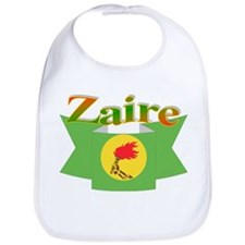 Flag ribbon Zaire Bib
