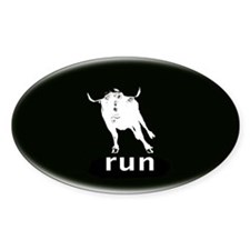 Running Of The Bulls Decal